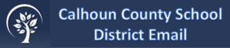 Calhoun County School District Email